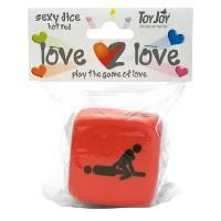 Love 2 love sexy dice red