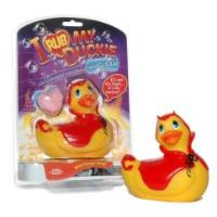 Вибромассажер I Rub My Duckie - Red Devil (BIG)
